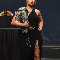 Ahí derrotó a Bethe Correia en 34 segundos. Foto:Getty Images