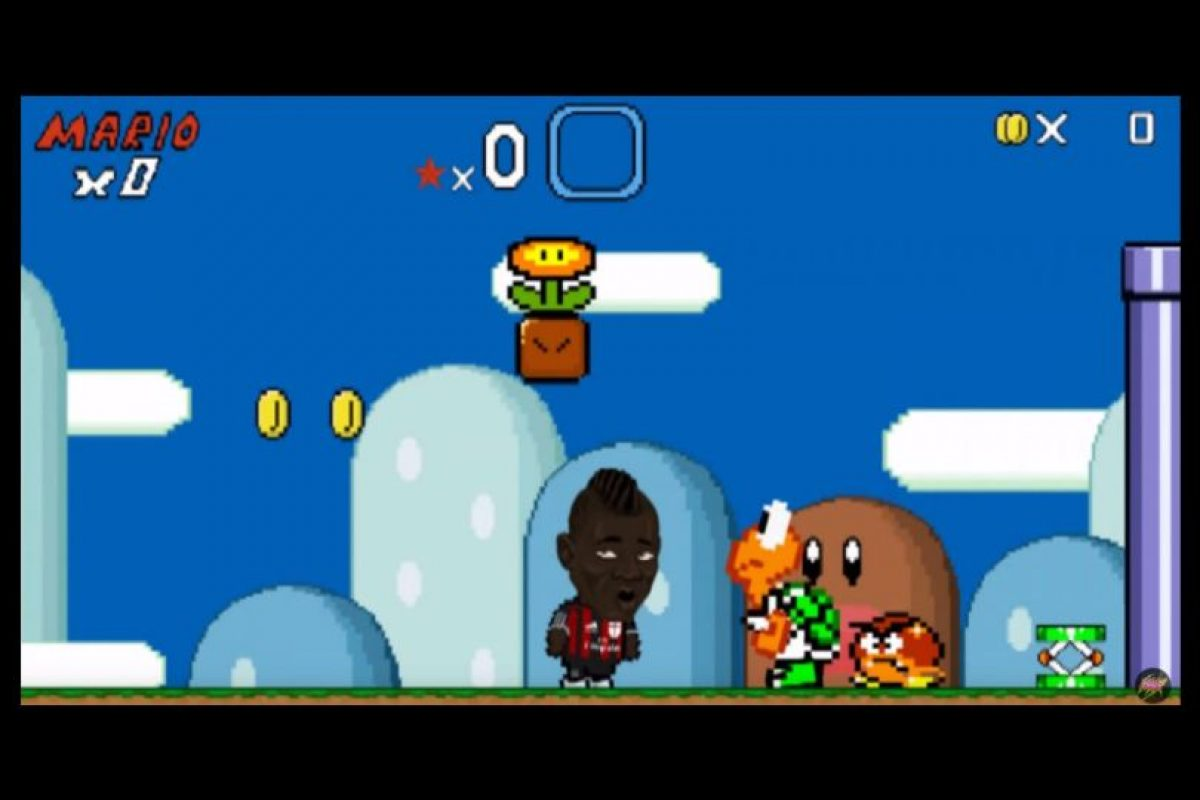 1. Mario Balotelli Foto: Youtube R4six