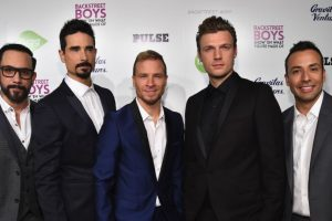 AJ McLean, Howie Dorough, Brian Littrell, Nick Carter y Kevin Richardson. Foto:Getty Images