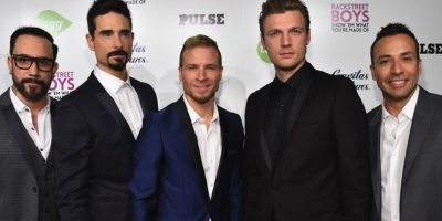 AJ McLean, Howie Dorough, Brian Littrell, Nick Carter y Kevin Richardson. Foto: Getty Images