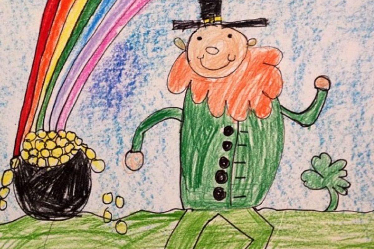 Como muchos niños de su edad, le gusta dibujar. Foto:vía instagram.com/miatalerico101