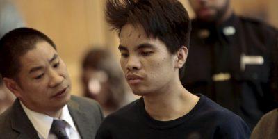 Mingdong Chen, tenía 25 años cuando mató a los miembros de su familia. Foto:AP