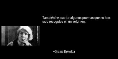 Grazia Deledda, reconocida en 1926 Foto:Tumblr