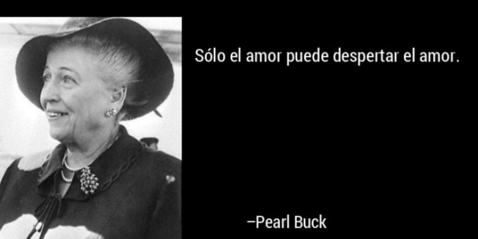 Pearl Buck, condecorada en 1938 Foto:Tumblr