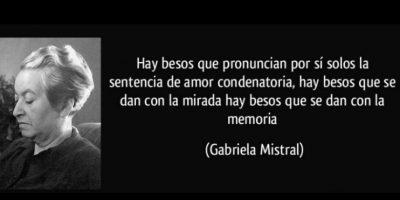 Gabriela Mistral, seleccionada en 1945 Foto:Tumblr
