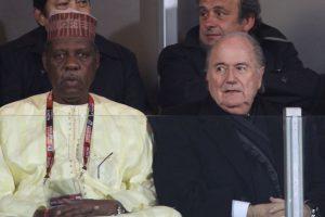 Y a los 41 años fue nombrado presidente de la Confederación del Fútbol Africano Foto:Getty Images