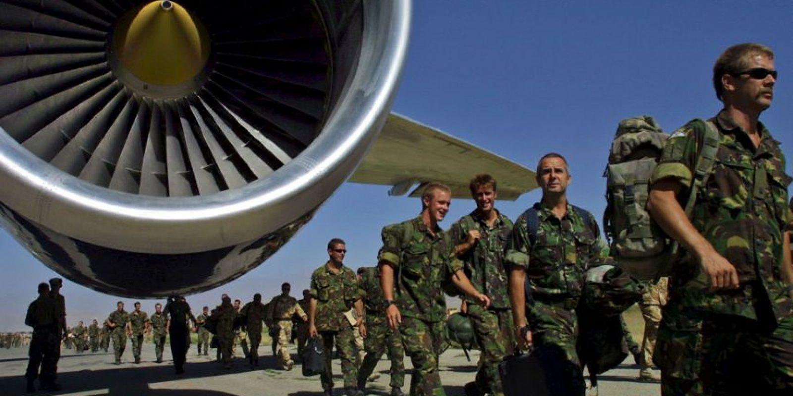 Cerca de cuatro mil 500 soldados se dirigieron a Medio Oriente el invierno del año pasado. Foto:Getty Images
