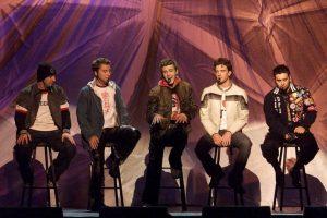 """""""'N Sync"""" es un acrónimo formado por la última letra del primer nombre de cada integrante del grupo. Foto:Getty Images"""