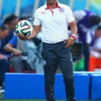 """Llegó en diciembre de 2012 al banquillo de """"la Roja"""", y fue con ellos al Mundial de 2014 y ganó la Copa América 2015. Foto:Getty Images"""