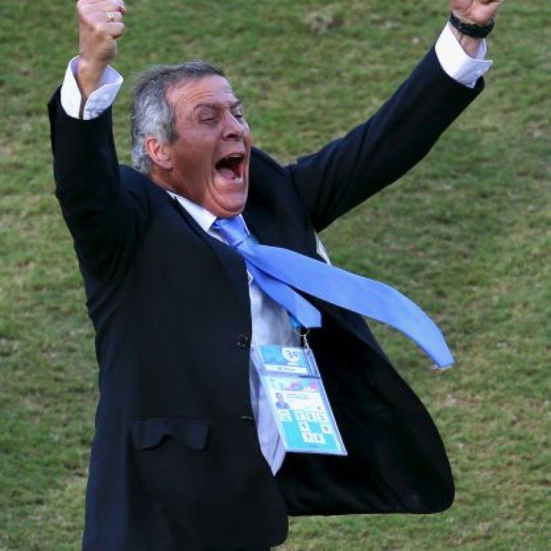 9. Óscar Washington Tabárez (Uruguay) Foto:Getty Images