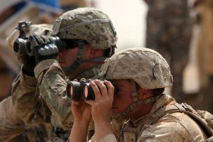 Cerca de 300 soldados fueron los que regresaron a casa luego de casi 9 meses de estar fuera. Foto:Getty Images