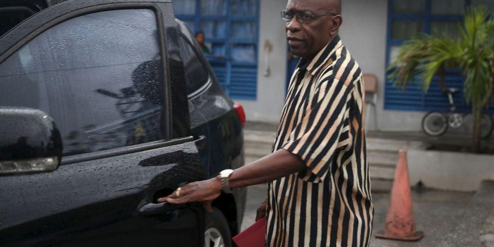 Desde 2011 renunció a la FIFA, pues fue acusado de fraude, asociación delictuosa y lavado de dinero. Fue arrestado en Trinidad y Tobago, pero liberado bajo fianza el 28 de mayo, aunque el proceso continúa. El pasado 29 de septiembre, la FIFA lo suspendió de por vida. Foto:Getty Images