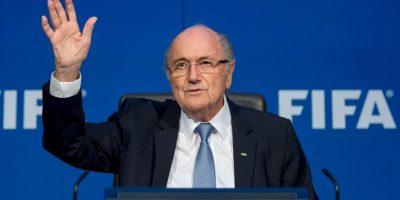 12. Joseph Blatter / Presidente de la FIFA. Foto:Getty Images
