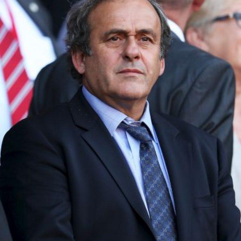 """Presidente de la UEFA. Recibió, en febrero de 2011, un pago de 1.8 millones de euros por parte de Joseph Blatter, quien fue acusado de hacer un """"pago desleal"""" por esto. Fue suspendido 90 días por la Comisión de Ética de la FIFA. Foto:Getty Images"""