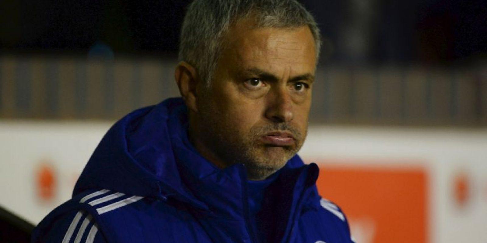 """Pero el club londinense mostró confianza en """"The Special One"""". """"El equipo quiere aclarar que José sigue teniendo todo nuestro apoyo. Foto:Getty Images"""