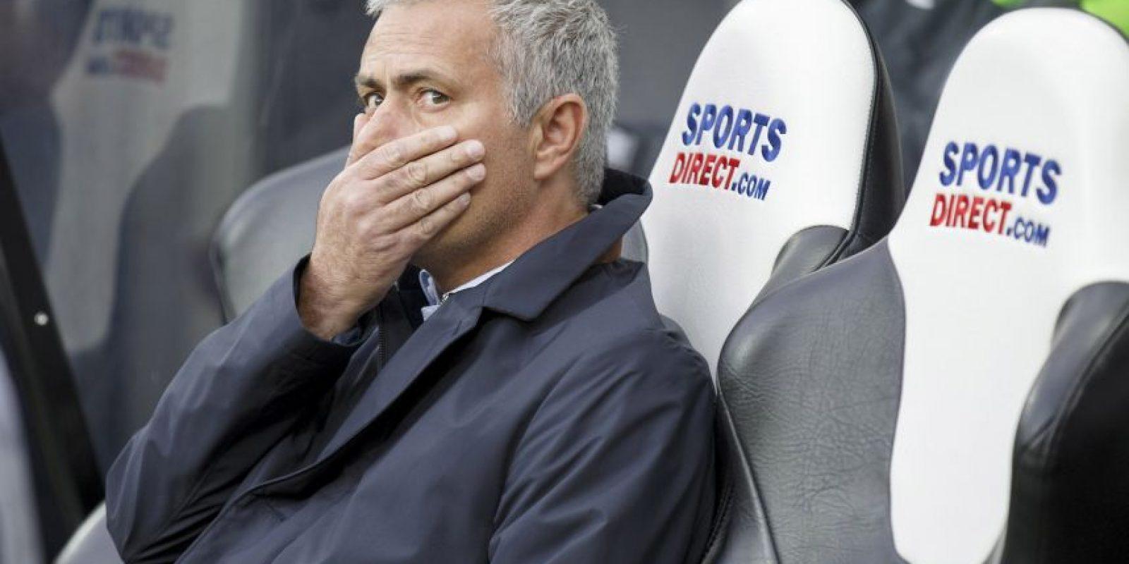 """Basta decir que Chelsea ha ganado solo cuatro partidos de 11 disputados en la actual temporada, para darse una idea de la crisis que atraviesan """"Mou"""" y sus pupilos. Foto:Getty Images"""