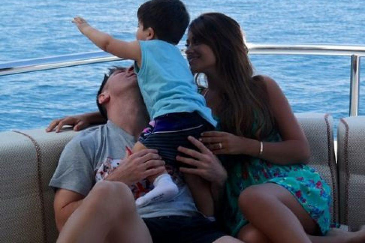 Tienen dos hijos Thiago y Matteo. Foto:Vía instagram.com/antoroccuzzo88