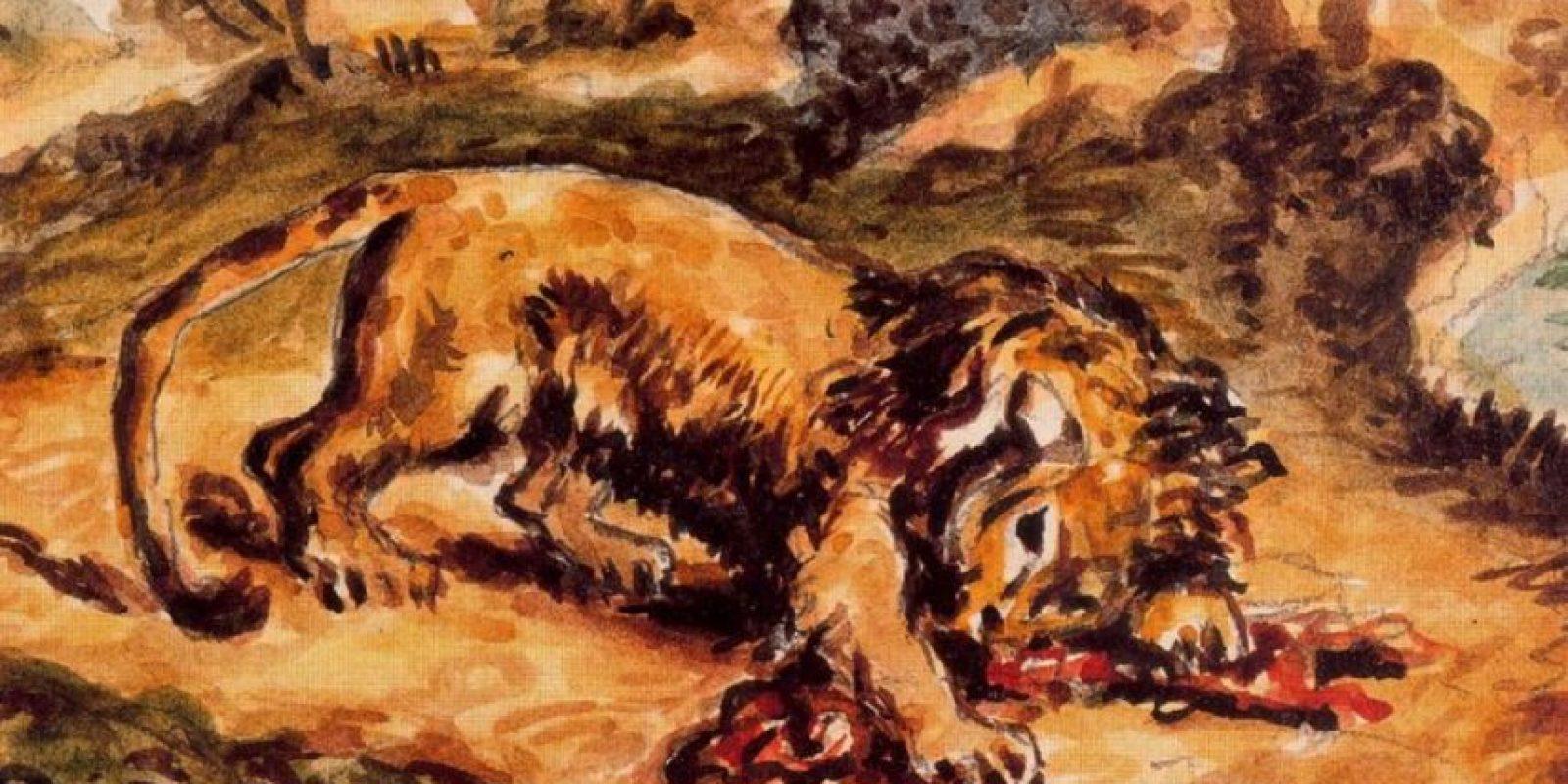 La víctima muere desangrada y luego ya no tiene conciencia. Foto:vía Wikipedia