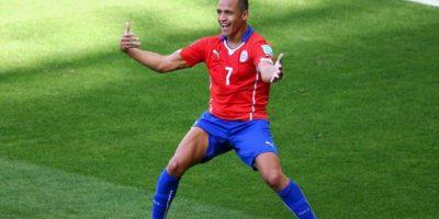 El delantero chileno es el segundo más valioso, con un costo de su carta de 55 millones de euros Foto:Getty Images