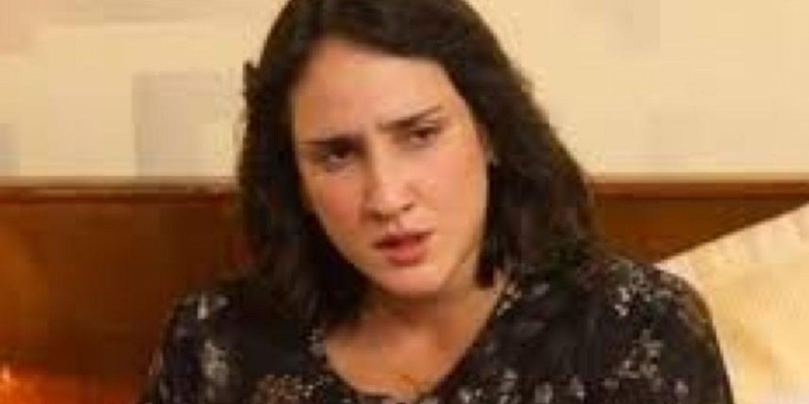 """Pasó 15 meses en prisión, luego salió libre. Ahora lleva una vida tranquila. La actriz Cecilia Navia la interpretó en """"Escobar, el patrón del mal"""". Foto:vía Canal Caracol"""