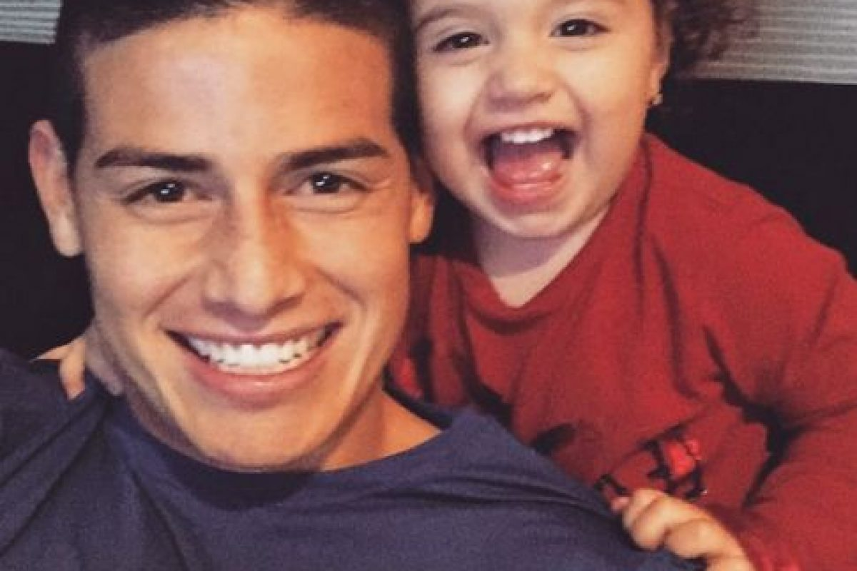 4. James Rodríguez (Real Madrid/Colombia) Foto: Vía instagram.com/jamesrodriguez10