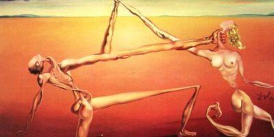 """Los paramilitares le quitaron a su madre una obra de Salvador Dalí llamada """"Rock and Roll"""". Ella se las dejó. Foto:vía WikiArt"""