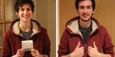 Se tomó fotos durante 3 años para mostrar su transformación de género