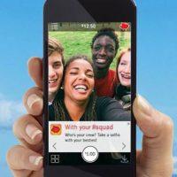"""La aplicación tiene una serie de """"retos selfie"""" para cumplir Foto:Pay Your Selfie"""