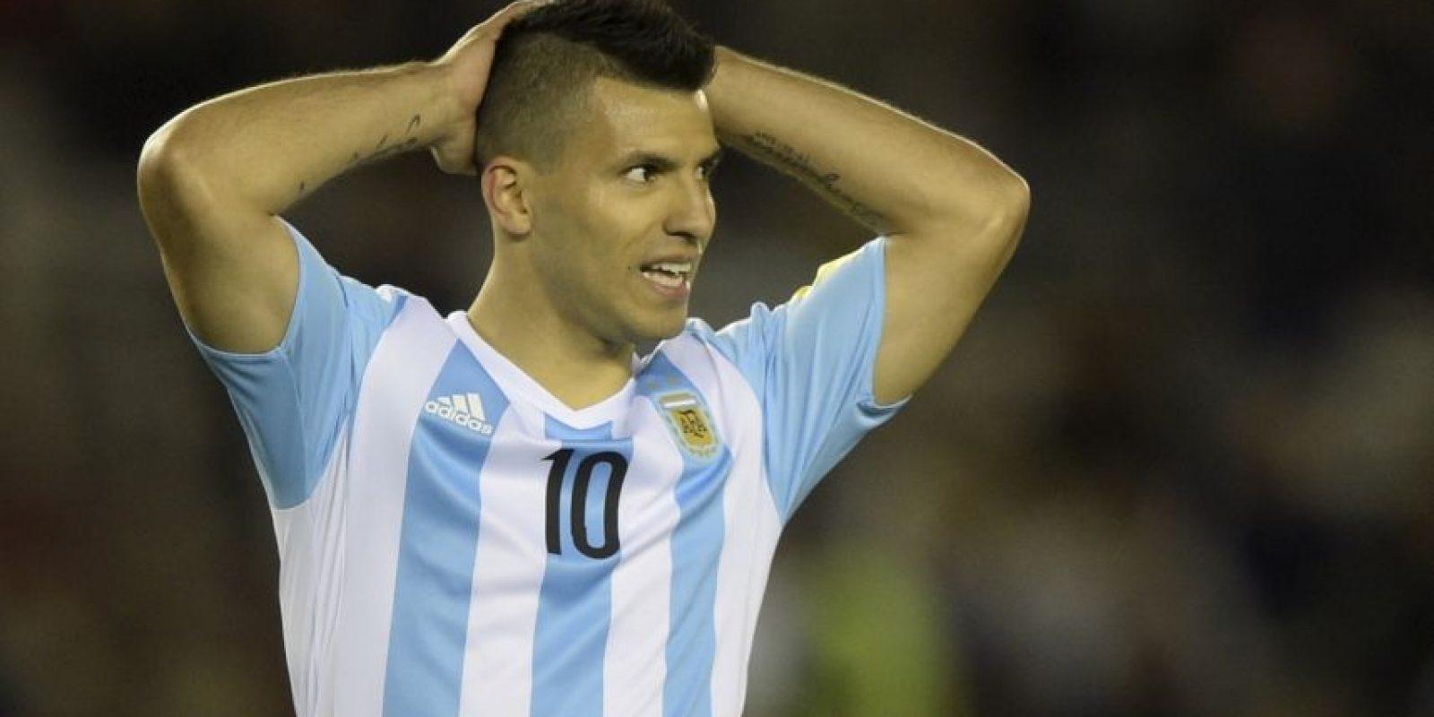 3. Sergio Agüero (Argentina) Foto:AFP