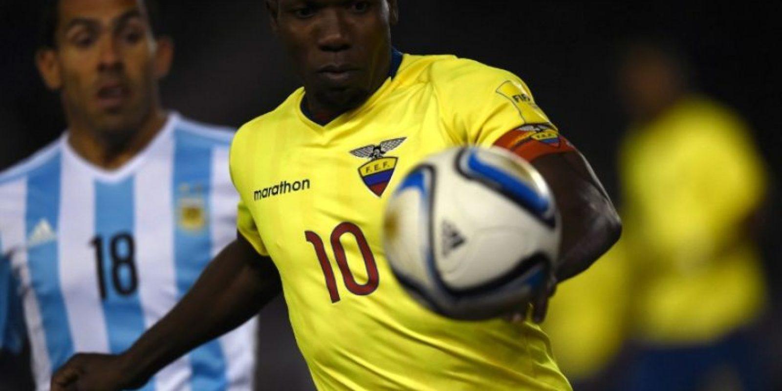 Ecuador nunca había ganado en Argentina Foto:AFP