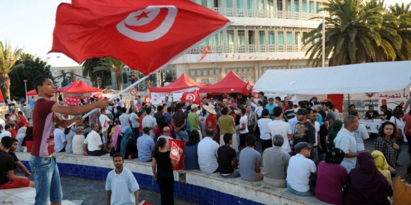 Túnez ha sido objeto de diversas manifestaciones Foto:AFP