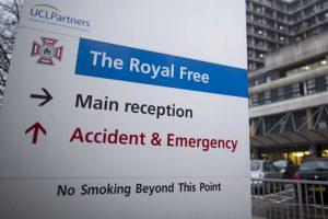 Y fue internada en el hospital Royal Free de Londres, de donde se dio de alta a finales de enero de este año. Foto:AFP