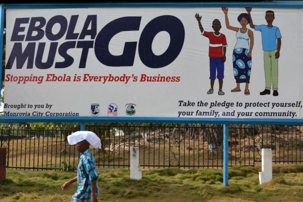 Entre ellas una enfermera escocesa, que atendía enfermos en Sierra Leona, África. Foto:Getty Images