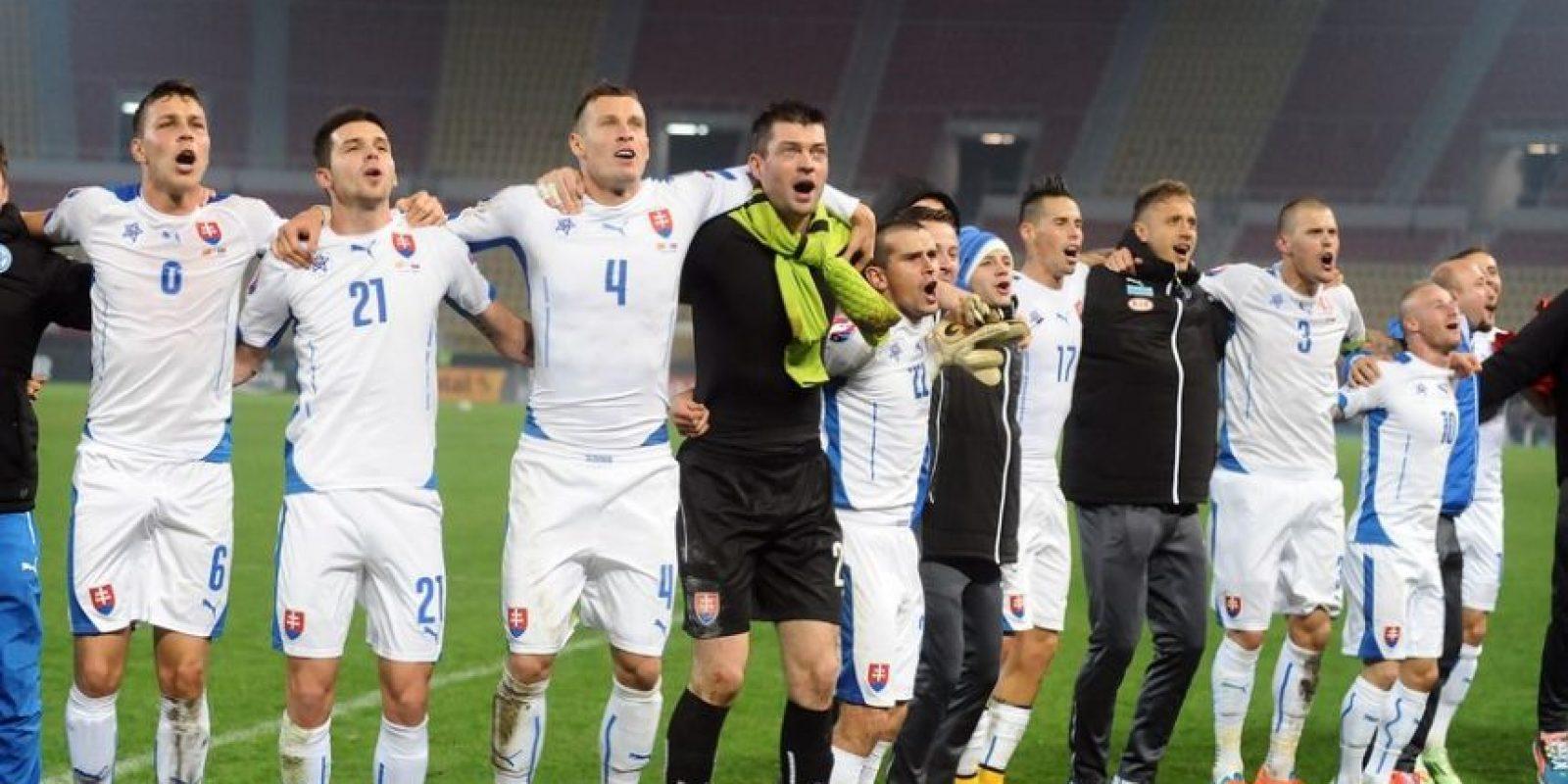 4. Eslovaquia Foto:AFP