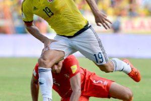Aunque ha tenido altibajos con la Selección de Colombia, ante Perú fue el mejor hombre y ayudó a su equipo a superar la férrea marca de los peruanos. Además, marcó el primer gol del partido. Foto:Getty Images
