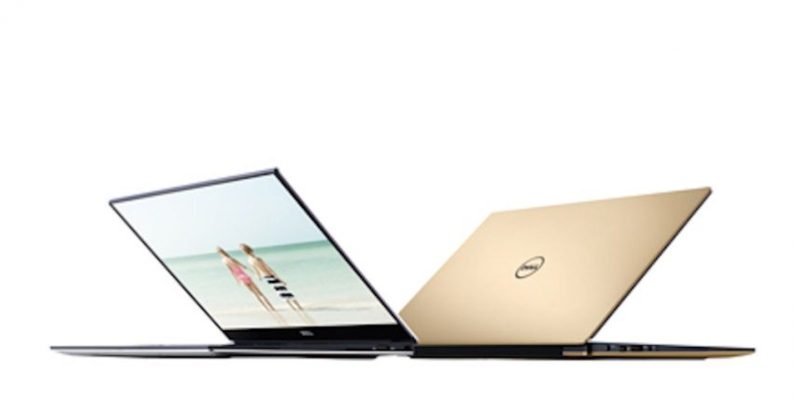 El modelo edición limitada XPS 13 de Dell de oro causó furor en China por su semejanza con el MacBook Air de Apple Foto: Dell