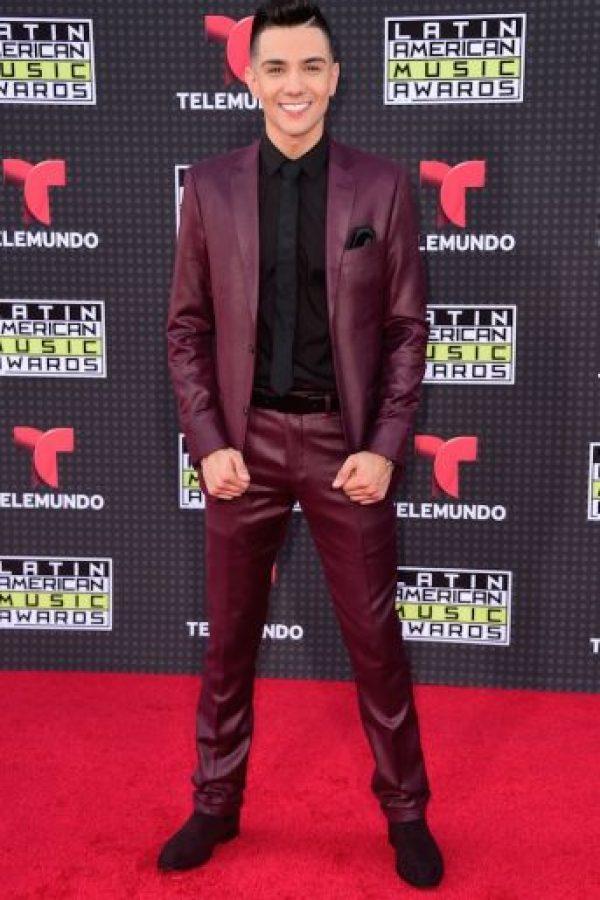 """El premio a la categoría """"Artista Masculino Favorito Regional Mexicano"""" fue para el cantante Luis Coronel. Foto:Getty Images"""