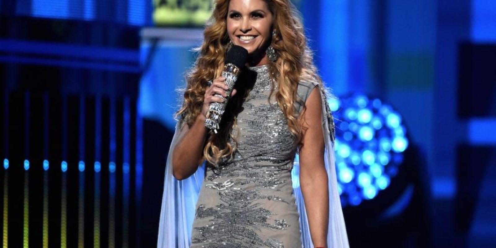 Lucero fue la gran anfitriona de la noche Foto:Getty Images