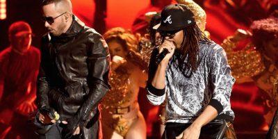 Los encargados de hacer bailar al público fueron Lil Jon y Yandel Foto:Getty Images