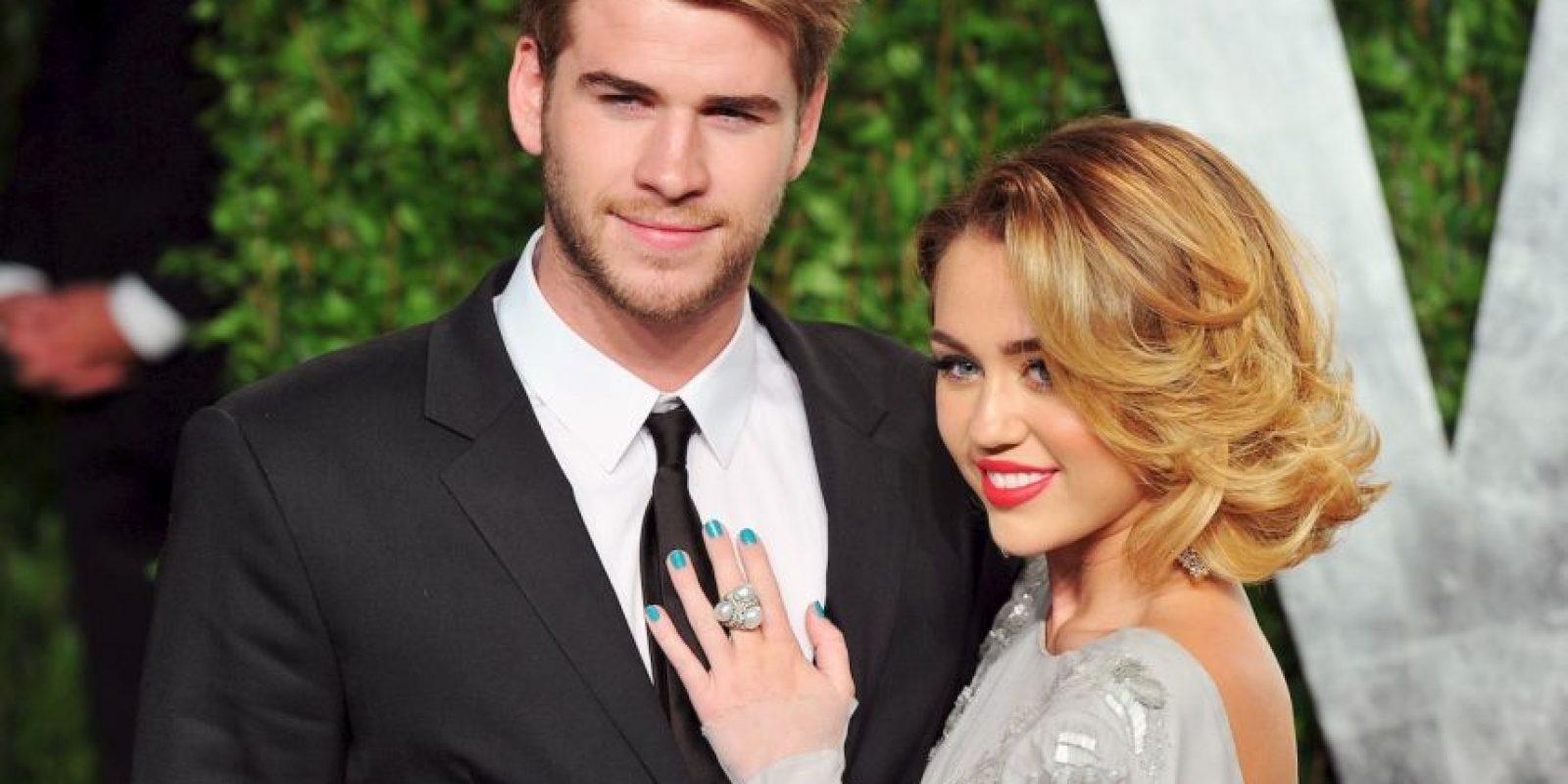 """La pareja eligió la fiesta de los premios Oscar, de la revista """"Vanity Fair"""", para su encuentro romántico. Foto:Getty Images"""