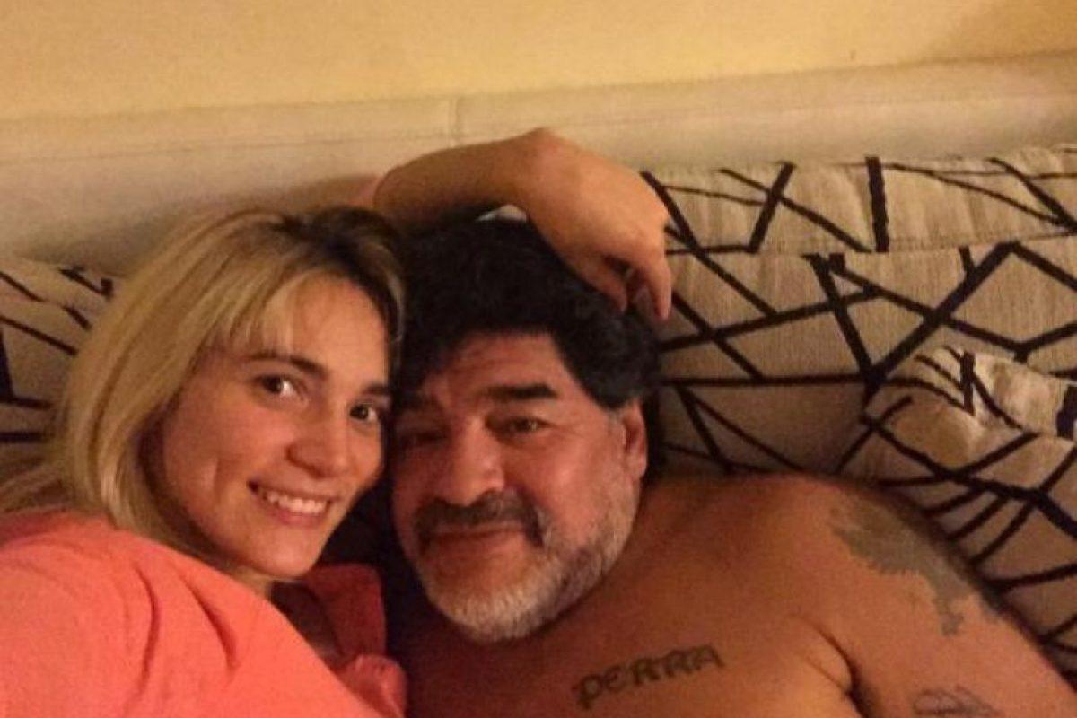 """Además, en medio de una guerra mediática con su expareja, Verónica Ojeda, madre de su hijo, Diego Fernando, le pidió que dejara de hablar mal de Rocío y que """"respete que está enamorado"""". Foto:Vía twitter.com/rogeraldineoliv"""