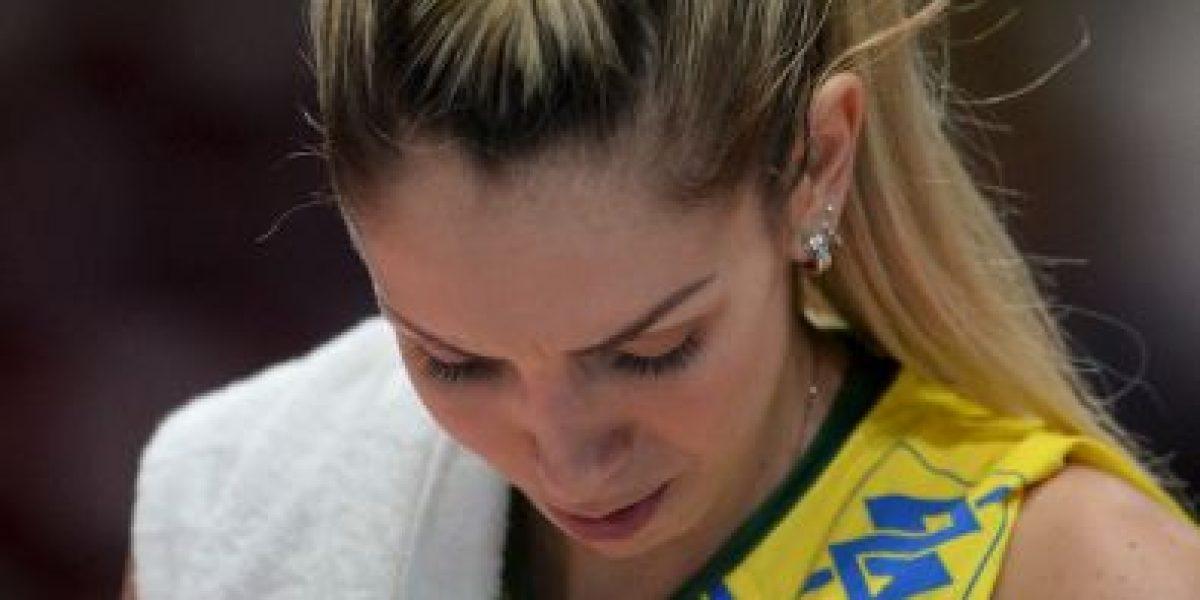 Fotos: Conozcan a Thaisa Menezes, la voleibolista más bella de Brasil