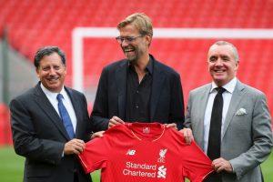 Jürgen Klopp firmó con el Liverpool Foto:Getty Images