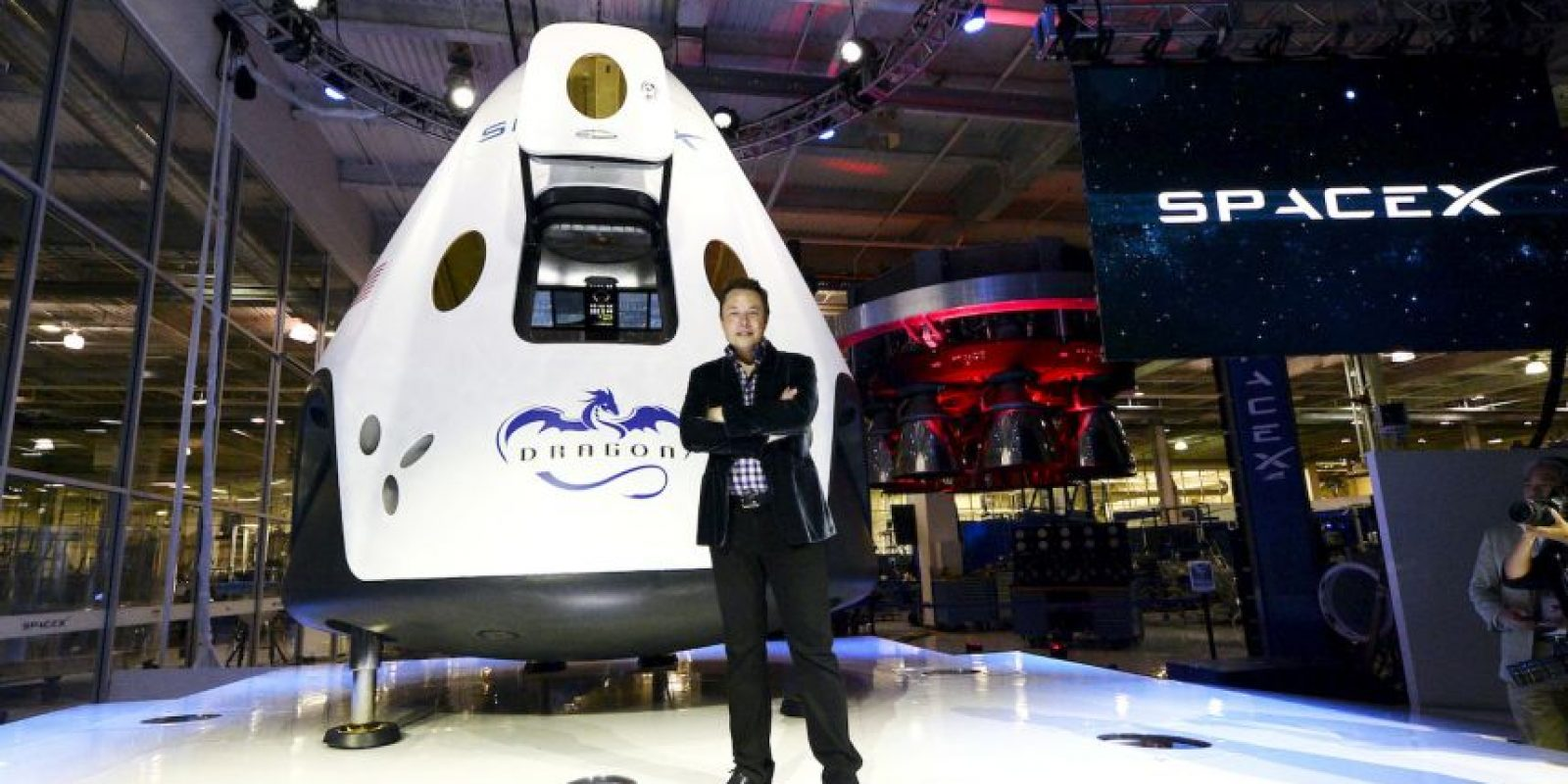 9.- Uno de sus proyectos más increíbles a largo plazo no es volar a Marte, sino ir más allá y crear colonias de unas 80 mil personas Foto:Getty Images