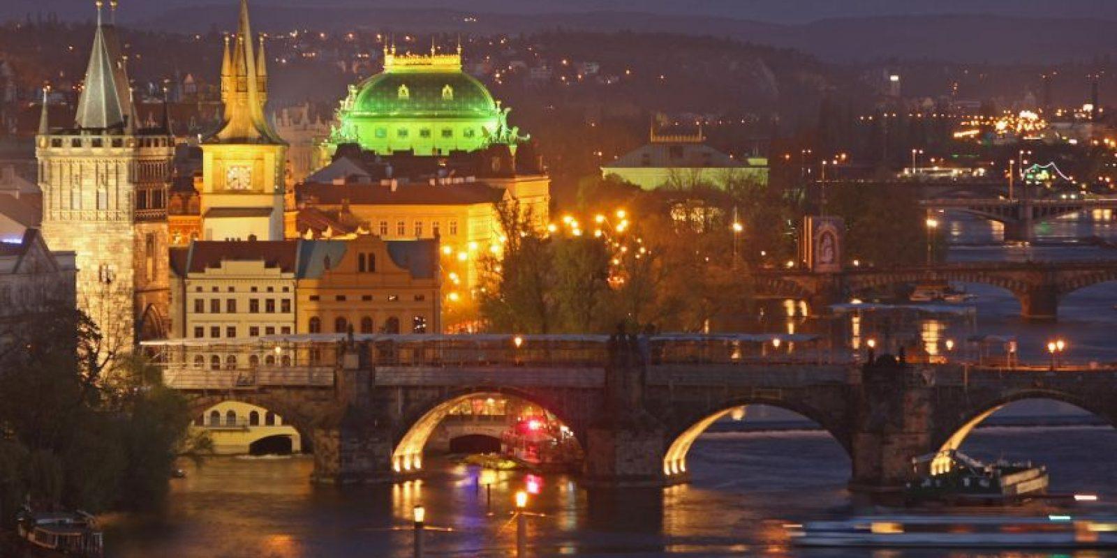 En Praga, República Checa, se encuentra el reloj astronómico más viejo del mundo. Foto:Getty Images