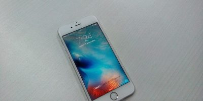 Este es el iPhone 6s plata de 128GB. Foto:Cesar Acosta / Especial