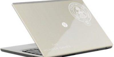"""En 2012, corrió un rumor sobre la supuesta laptop edición de """"Los Juegos del Hambre"""", sin embargo nunca se concretó Foto:es.hungertimes.com"""