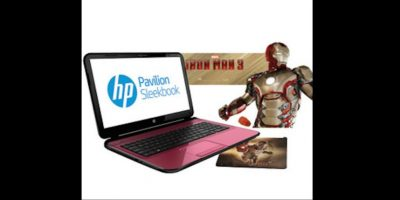 """Esta portátil contenía contenido digital de la película """"Iron Man 3"""" Foto:HP"""
