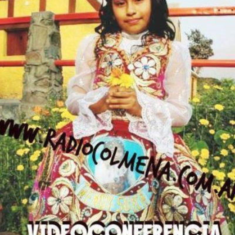 """Su madre compuso los """"hits"""" de su primer álbum : """"Papito por qué me dejaste"""" Foto:Wendy Sulca/Facebook"""