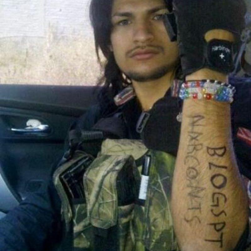 Broly Banderas es uno de los sicarios más populares del narco en México. Foto:vía Facebook